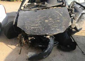 سيارة حادث داليا التوني