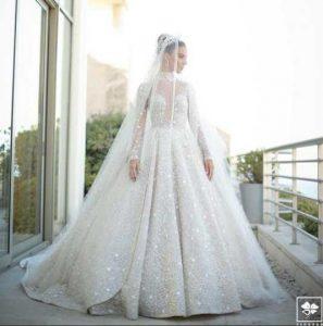 صور حفل زفاف لارا اسكندر نجمة ستار أكاديمي .. فستان بالألماس وليلة زواج اسطورية