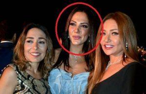 ابنة عادل إمام مع ليلى علوى