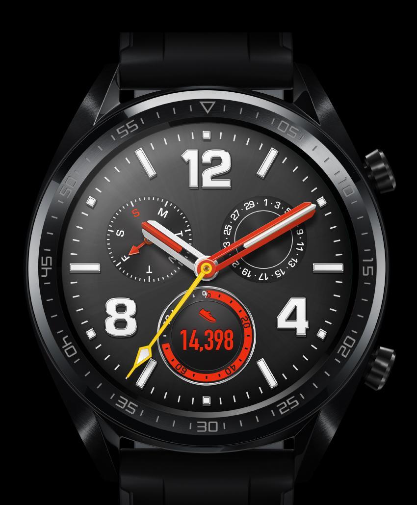 Huawei Watch GT تعرف على مواصفات و سعر ساعة اليد Watch GT من شركة هواوي