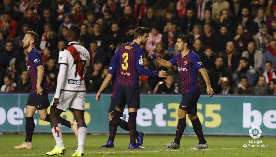 رايو فاليكانو 2 - 2 برشلونة