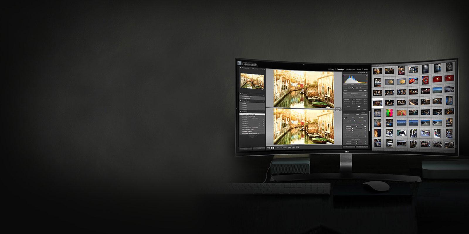 شاشات وتلفزيونات شركة LG