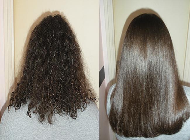 وصفة زيت النخاع لفرد الشعر المُجعد و المموج