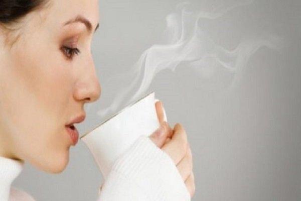 شرب المياه الدافئة أو الساخنة لانقاص الوزن