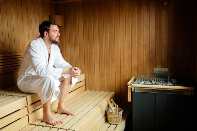 الساونا و حمام البخار لانقاص الوزن