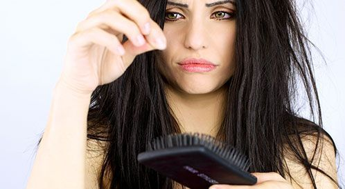 علاج تساقط الشعر بالاعشاب الطبيعية