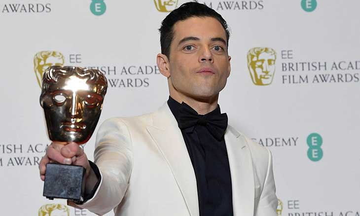فاز بجائزة البافتا BAFTa كأحسن ممثل